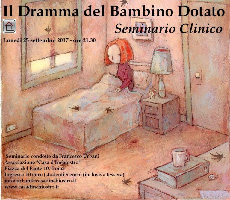 Seminari – Il Dramma del Bambino Dotato