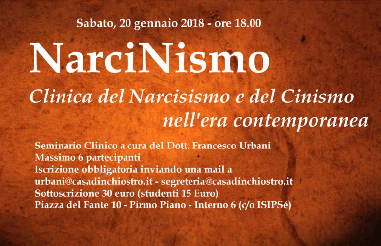 Seminari – NarciNismo